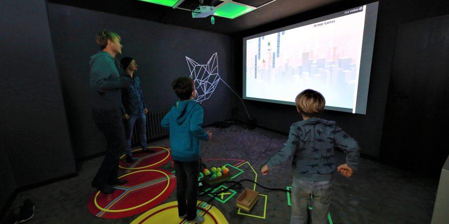 Team-Craft, Sandradstraße 12, Computerspiele mit Fitnesselementen kombiniert